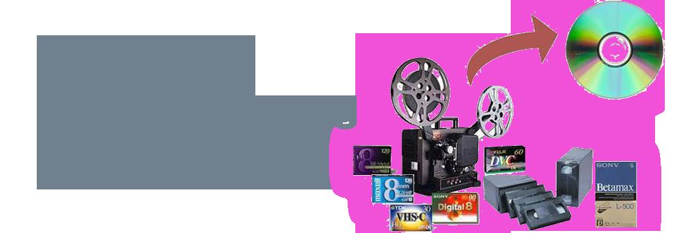 pase de cintas de video